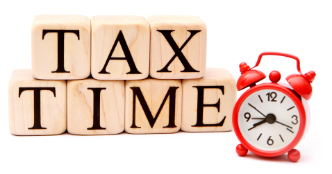 It's Tax Time! STATUS-FED & IL ARRIVED – Welcome